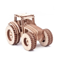 Buy cheap GK-Wood Tractor 3D Puzzle product
