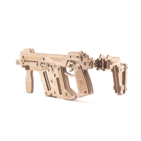 Buy cheap GK-Wood Full Auto Rubber Band Sub-Machine Gun 3D Puzzle product