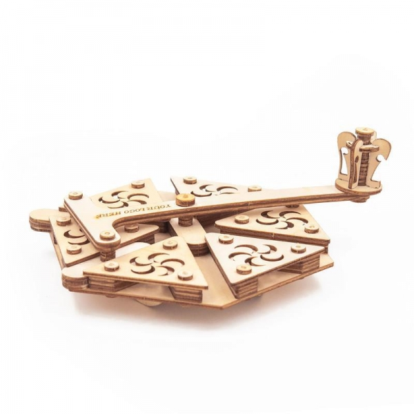 Quality GK-Wood Trammel of Archimedes 3D Puzzle for sale