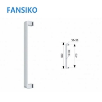 Buy cheap High quality Frameless glass door handle for shower cabin from wholesalers