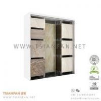 Buy cheap Sliding Ceramic and Stone Tile Showroom Display Rack product