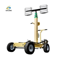 Buy cheap Trolley LED Light Tower from wholesalers