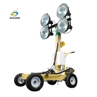 Buy cheap Trolley Metal Halide Light Tower from wholesalers