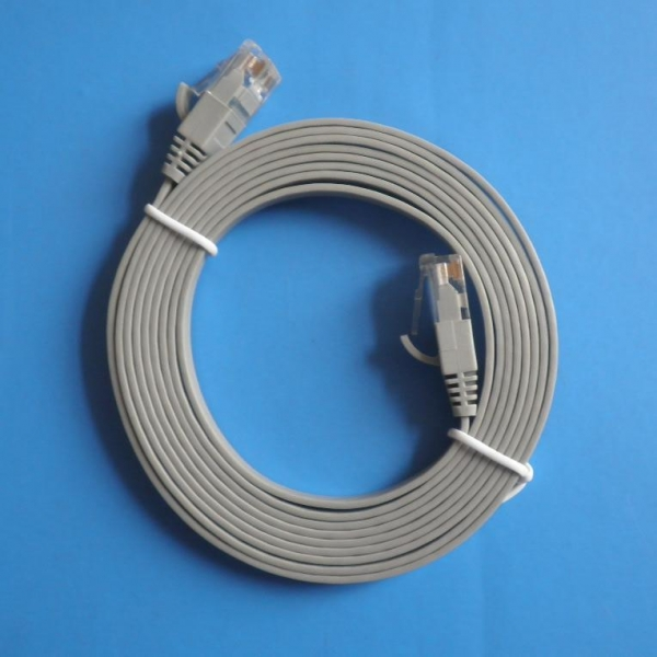 Quality Lan Cable(networking)  cat5e UTP Flat for sale