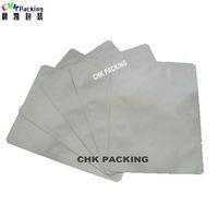 Quality CHK Packing Custom logo printed plastic three side seal aluminum foil bags for facial mask packaging for sale