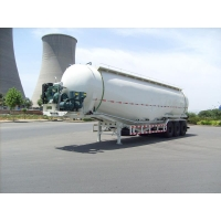 Buy cheap Dongfeng 3 Axle 65CBM Power and Cement tanker V type Semi-trailer from wholesalers