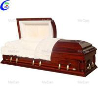 Buy cheap Funeral coffin metal and wooden corpse casket from wholesalers