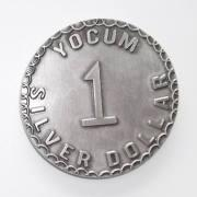 Buy cheap Antique Silver Metal Silver 1 Dollar Token Coins, Custom Tokens and Coins Manufacturer from wholesalers