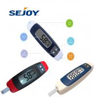 Buy cheap LCD Screen Diabetic Fast Check Portable Glucose Meter from wholesalers