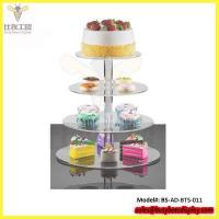 Buy cheap Custom Wholesale 4 Tier Acrylic Cupcake Stand from wholesalers