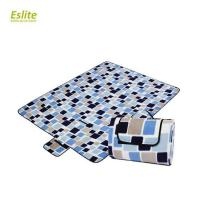 Buy cheap Outdoor 100% Polyester Portable Beach Picnic Blanket Waterproof Pocket Blanket from wholesalers