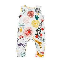 Buy cheap Kehen Newborn Baby Girls Flower Animal Print Romper Bodysuit Outfits (6/12M, White) from wholesalers