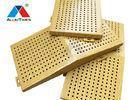 Buy cheap Architectural Perforated Metal Wall Panels , Aluminium Exterior Wall Panels from wholesalers