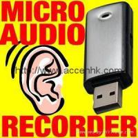 Buy cheap Voice Activated 4GB Micro USB Audio Recorder Spy Hidden Digital voice Recorder from wholesalers