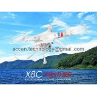 Buy cheap X8C 2.4G 4CH 6-Axis Venture RC Quadcopter Drone W/ 2MP Camera & Headless 3D UFO from wholesalers