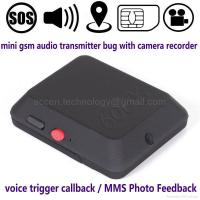 Buy cheap X009a Mini GSM Audio Listening Bug W/ Video Camera MMS Photo Alarm GPS Locator from wholesalers