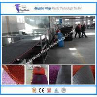 China PVC Coil Floor Mat Sheet Extrusion Facility PVC Car Mat With PVC Backing Machine on sale