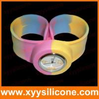 Buy cheap silicone decoration  Products  Silicone slap watch from wholesalers