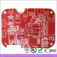 Buy cheap 2 layer red PCB prototype with fast shipping from wholesalers