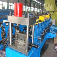 Buy cheap Galvanized steel CZ purlin roll forming machine China exporter from wholesalers