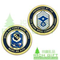 Buy cheap Custom Air Force coin for 7th Bomb Wing Commend Chief of Texas from wholesalers