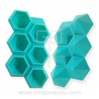 Buy cheap Best Selling Diamond Shape Silicone Ice Cube Trays from wholesalers