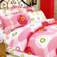 Buy cheap 4PCS 100% Microfiber Printed Bedding Sheet Set from wholesalers