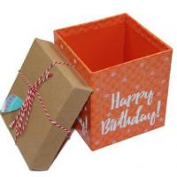 Buy cheap Empty Big Happy Birthday Present Gift Boxes from wholesalers