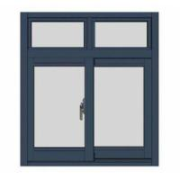 Buy cheap Grill Design UPVC Casement French Windows from wholesalers