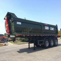 Buy cheap China CIMC 27cbm 40 ton Dump Trailer from wholesalers