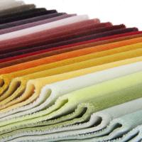 Buy cheap Cotton Velvet Upholstery Fabric by the Yard from wholesalers