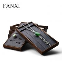 Buy cheap Wood Stackable Jewelry Display Tray from wholesalers