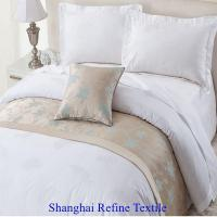 Buy cheap commercial bed linen luxury hotel bedding set from wholesalers