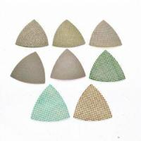 Buy cheap Triangle Diamond Polishing Pads for Oscillating Multi Tools from wholesalers