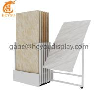 Buy cheap New style Ceramic tile display rack Custom tile display s from wholesalers