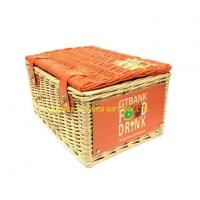 Buy cheap Handmade Natural Wicker Picnic Basket from wholesalers