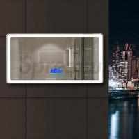 Buy cheap S-2600 Round Edge Led Bluetooth Bathroom Mirror with Demister from wholesalers