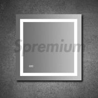 Buy cheap S-3066 Square Led Demister Bathroom Mirror With Touch Switch On/Off from wholesalers