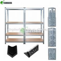 Buy cheap 170x75x30cm 4 Layer Adjustable Shelf Unit Garage Kitchen Workshop Metal rack storage shelves product