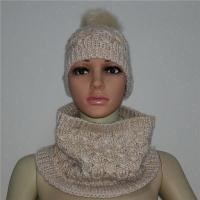 China Womens Hat Scarf And Neck Warmer on sale