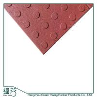 Buy cheap Conjoined blind rubber flooring tiles from wholesalers