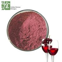 Buy cheap 40% Polifenoles Skin Care Red Red Wine Extract Powder Wholesale from wholesalers