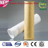 Buy cheap Composite P84+glassfiber high temp resistance needle filter cloth filter bag from wholesalers