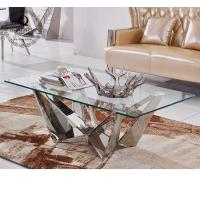 Buy cheap modern glass coffee table for living room 959# from wholesalers