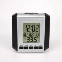 China JIMEI H130 Lcd Digital Table Alarm Clock student alarm clock with snooze large LCD displaly on sale