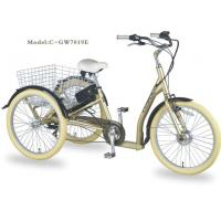 Buy cheap Electric Family Adult Tricycle Trike from wholesalers