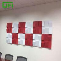Buy cheap PET Acoustic Decorative Soundproof Wall Panels from wholesalers
