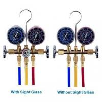 Buy cheap EQUIPMENT AND SPARE PARTS Brass R12, R22 Manifold Gauge Set from wholesalers