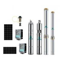 Buy cheap 3 inch high efficiency solar borewell pumps deep well submersible pump from wholesalers