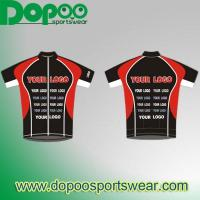 Buy cheap Custom-men-short-sleeve-cycling-jersey-for club-DPCW053 from wholesalers